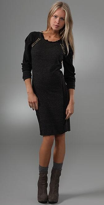Dolan Tuck Sleeve Dress