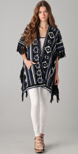 Dolan Big Sur Blanket Poncho Cardigan