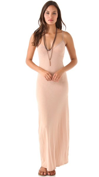 Dolan Layering Maxi Slip Dress