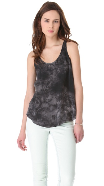 Dolan Washed Silk Tank