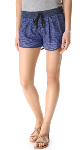Dolan Denim Waistband Shorts