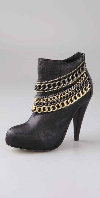 Dolce Vita Flash Multi Chain Booties