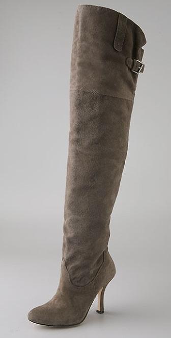 Dolce Vita Braeden Suede Thigh High Boots