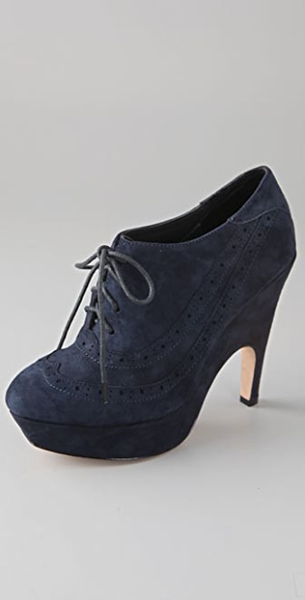 Dolce Vita Harrison Suede Oxford Booties