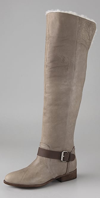 Dolce Vita Derek Over the Knee Shearling Boots