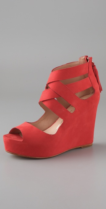 Dolce Vita Jade Crisscross Wedge Sandals