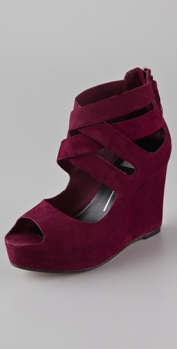 Dolce Vita Jade Nubuck Wedge Sandals