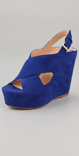 Dolce Vita Julie Suede Platform Sandals