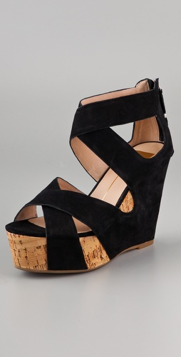 Dolce Vita Jaime Suede Wedge Sandals