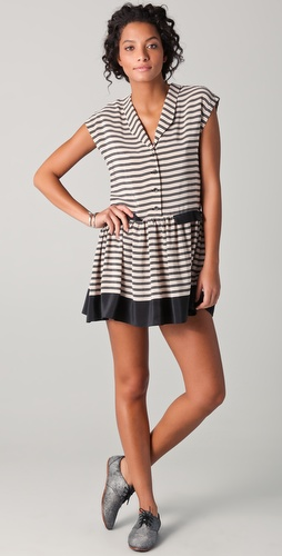 Dolce Vita Bayley Striped Dress