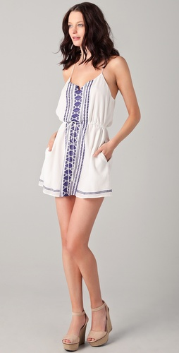 Dolce Vita Garbo Embroidered Dress