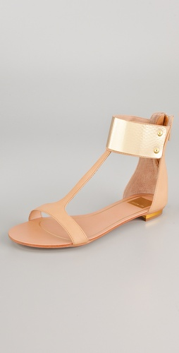 Dolce Vita Bagley T Strap Sandals