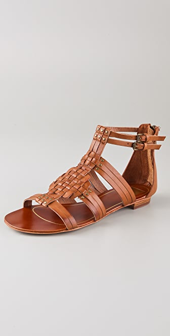 Dolce Vita Cybele Woven Flat Sandals