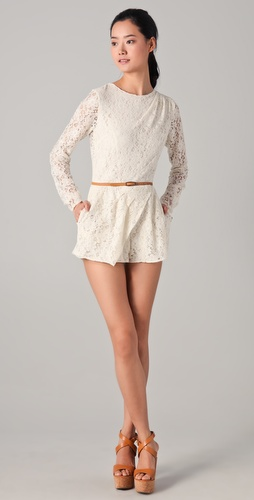 Dolce Vita Jaiden Lace Romper