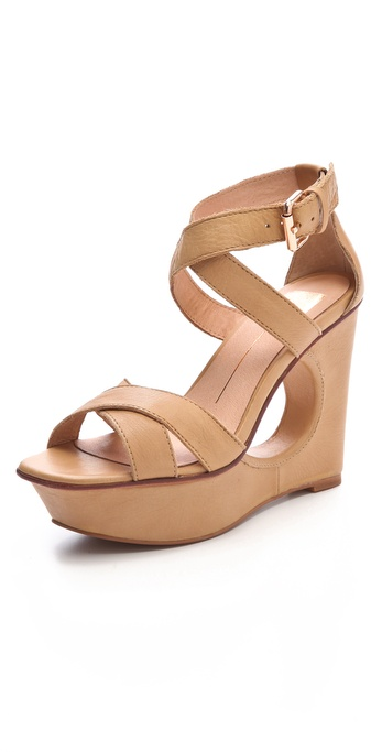 Dolce Vita Orla Cutout Wedge Sandals