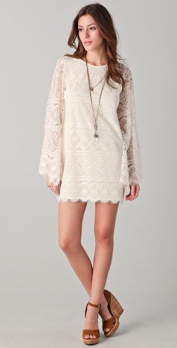 Dolce Vita Starling Bell Sleeve Lace Dress