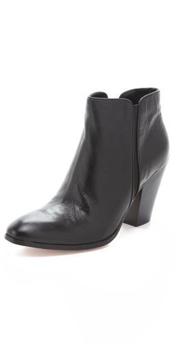 Dolce Vita Halle Zip Booties at Shopbop / East Dane