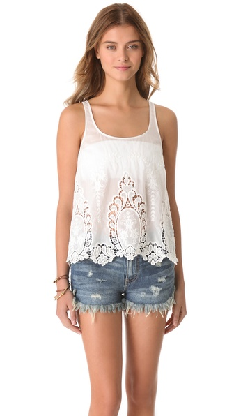Dolce Vita Fionie Top - White at Shopbop / East Dane