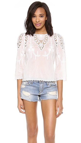 Dolce Vita Alma Top - White at Shopbop / East Dane