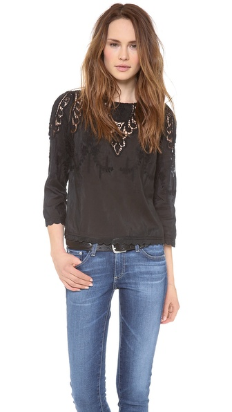 Dolce Vita Alma Top - Black at Shopbop / East Dane