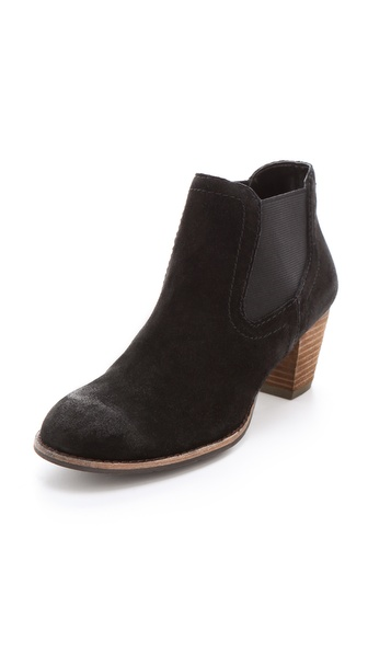 Dolce Vita Jackal Suede Booties