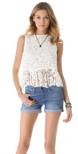 Dolce Vita Anja Lace Top at Shopbop.com