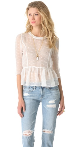 Dolce Vita Ceri Blouse at Shopbop / East Dane