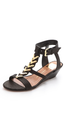 Dolce Vita Helia Low Wedge Sandals at Shopbop.com