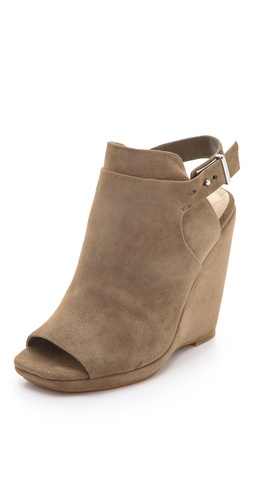 Dolce Vita Mosey Nubuck Platform Booties at Shopbop / East Dane