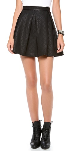 Dolce Vita Mairin Faux Leather Skirt at Shopbop / East Dane