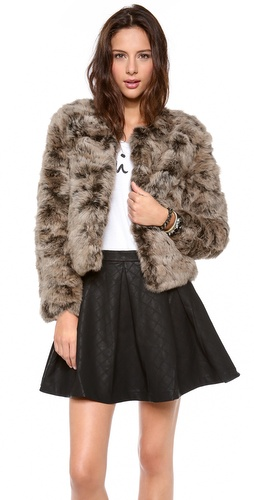 Dolce Vita Luxor Fur Jacket at Shopbop / East Dane