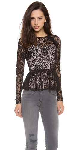 Dolce Vita Becka Peplum Top at Shopbop / East Dane