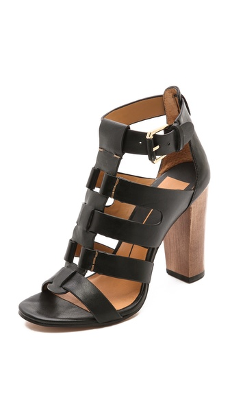 Dolce Vita Niro Cutout Sandals - Black at Shopbop / East Dane