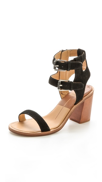 Dolce Vita Cymbal Ankle Band Sandals - Black at Shopbop / East Dane