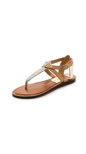 Dolce Vita Fabia Flat Sandals - Natural at Shopbop / East Dane