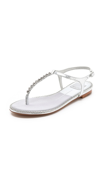 Dolce Vita Ensley Metallic Sandals - Silver at Shopbop / East Dane