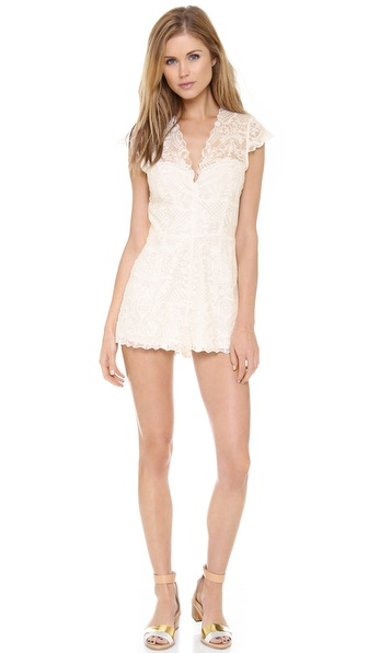Dolce Vita Nosa Romper - White at Shopbop / East Dane