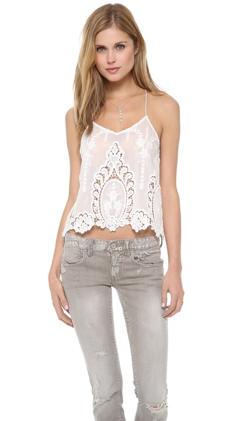 Dolce Vita Sabelle Tank - White at Shopbop / East Dane