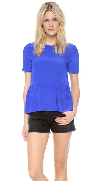 Dolce Vita Damica Top - Cobalt at Shopbop / East Dane