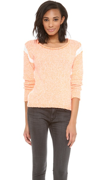 Dolce Vita Robb Sweater - Neon Orange at Shopbop / East Dane