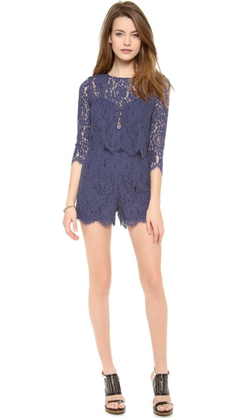 Dolce Vita Dasya Romper - Blue/Purple at Shopbop / East Dane