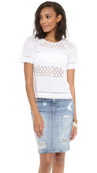 Dolce Vita Frona Top - White at Shopbop / East Dane