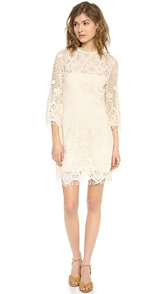 Dolce Vita Mikella Crochet Mini Dress