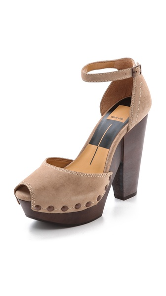 Dolce Vita Huxley Platform Sandals - Natural at Shopbop / East Dane