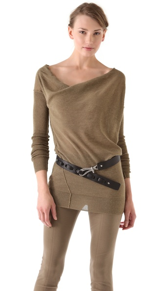 Donna Karan Casual Luxe Long Sleeve Sweater