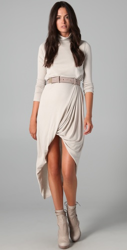 Doo.Ri Belted Turtleneck Dress