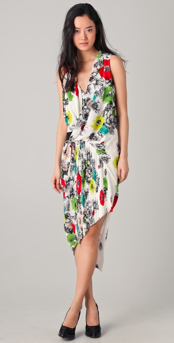 Doo.Ri Dress with Anchored Drape