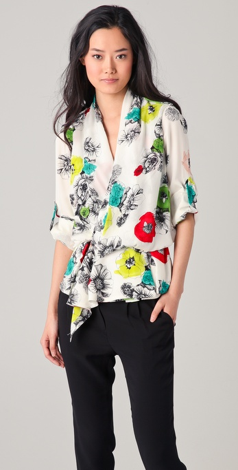 Doo.Ri Wrap Blouse