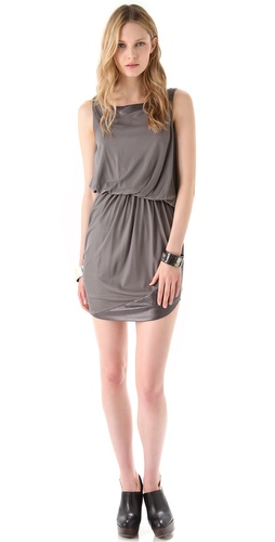 Doo.Ri Tank Dress with Leather Trim