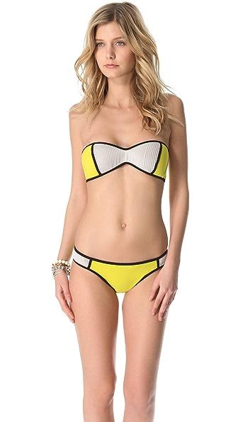 DosMares Galena Bandeau Bikini Set